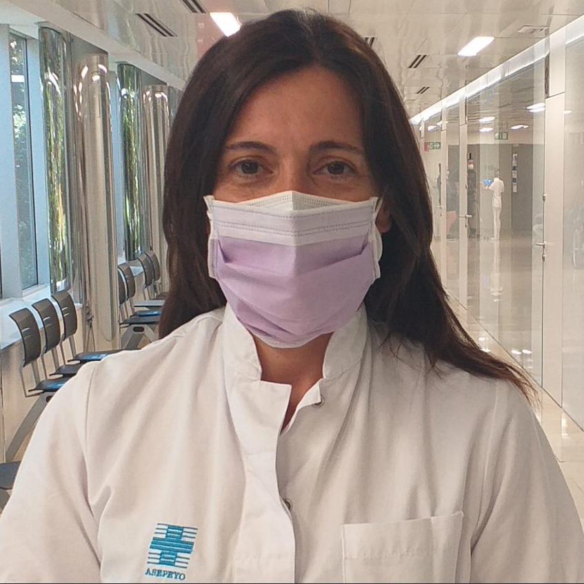 Cristina Labanda enfermera hospital Asepeyo Sant Cugat
