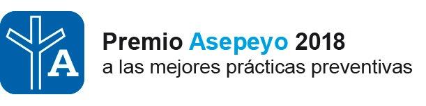 sello premios prevención Asepeyo